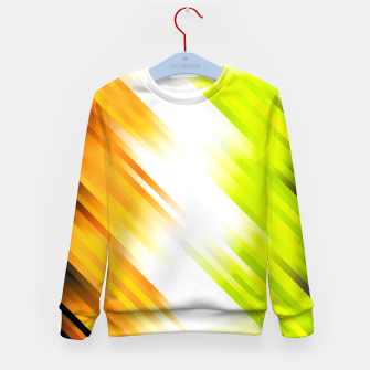 stripes wave pattern 7v1 std Kid's sweater thumbnail image