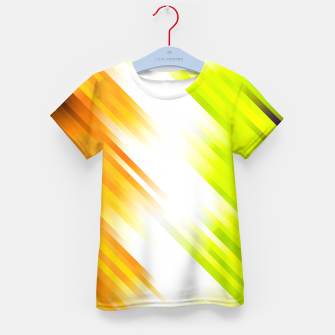 stripes wave pattern 7v1 std Kid's t-shirt thumbnail image