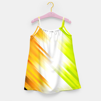 stripes wave pattern 7v1 std Girl's dress thumbnail image