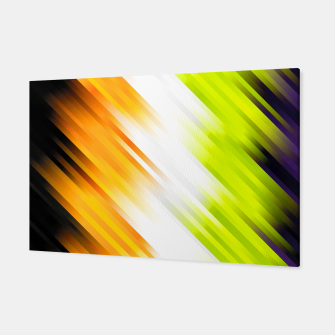 stripes wave pattern 7v1 std Canvas thumbnail image