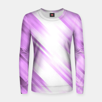 stripes wave pattern 7v1 pp Women sweater thumbnail image