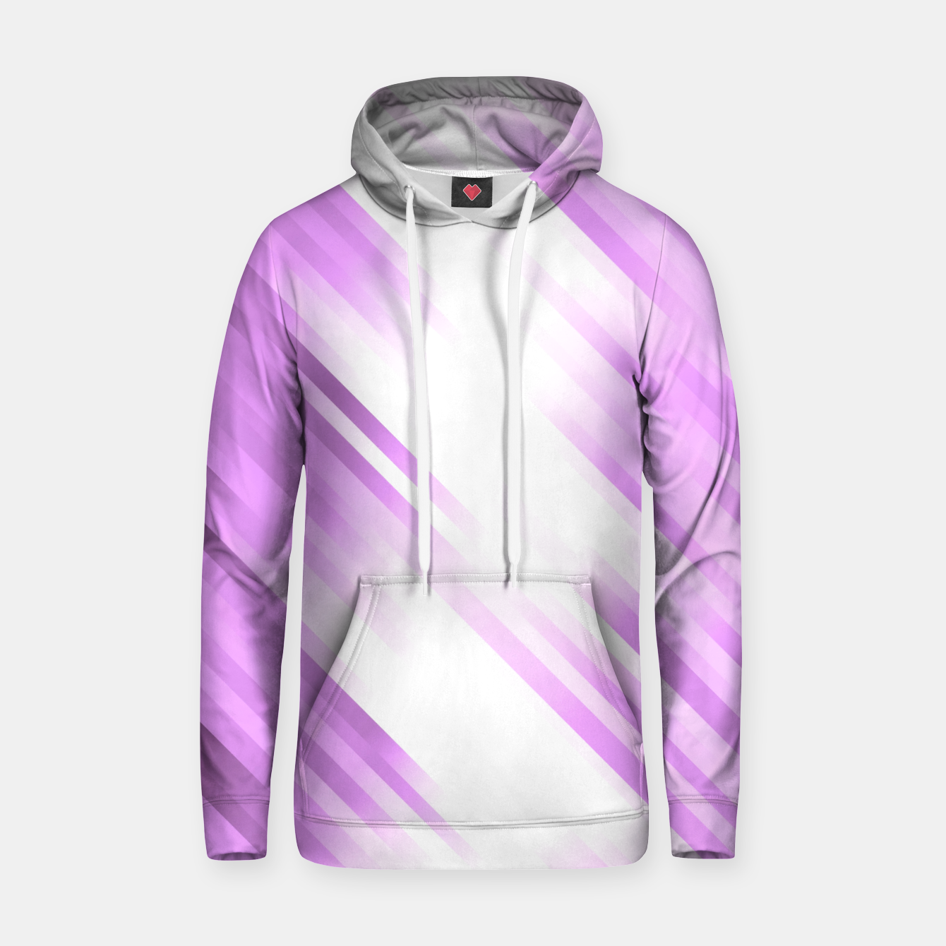 Image of stripes wave pattern 7v1 pp Hoodie - Live Heroes