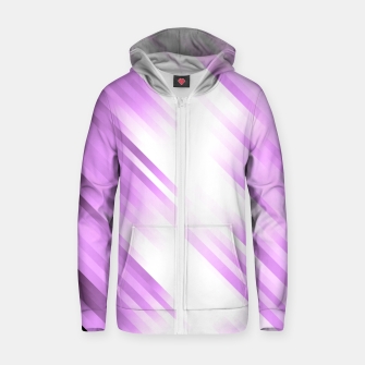 stripes wave pattern 7v1 pp Zip up hoodie thumbnail image