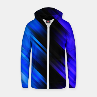 stripes wave pattern 7v1 stdi Zip up hoodie thumbnail image