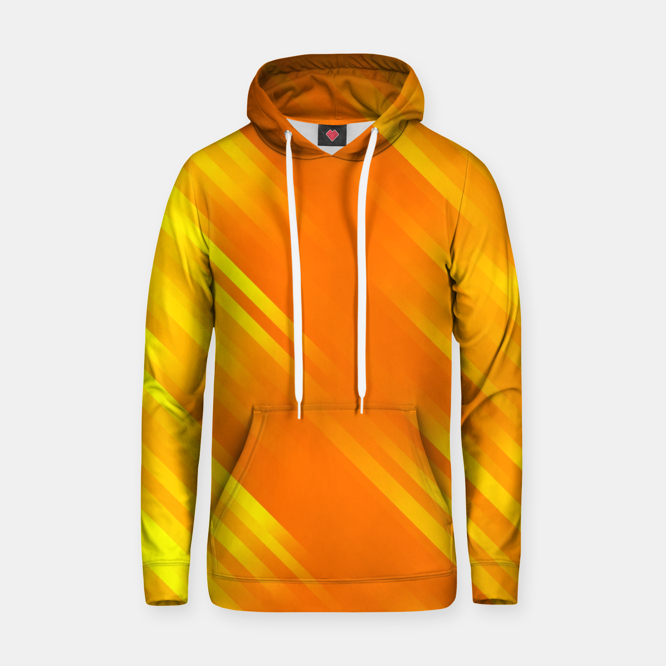 Image of stripes wave pattern 7v1 yo Hoodie - Live Heroes