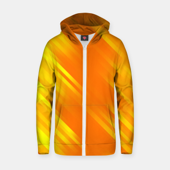 stripes wave pattern 7v1 yo Zip up hoodie thumbnail image