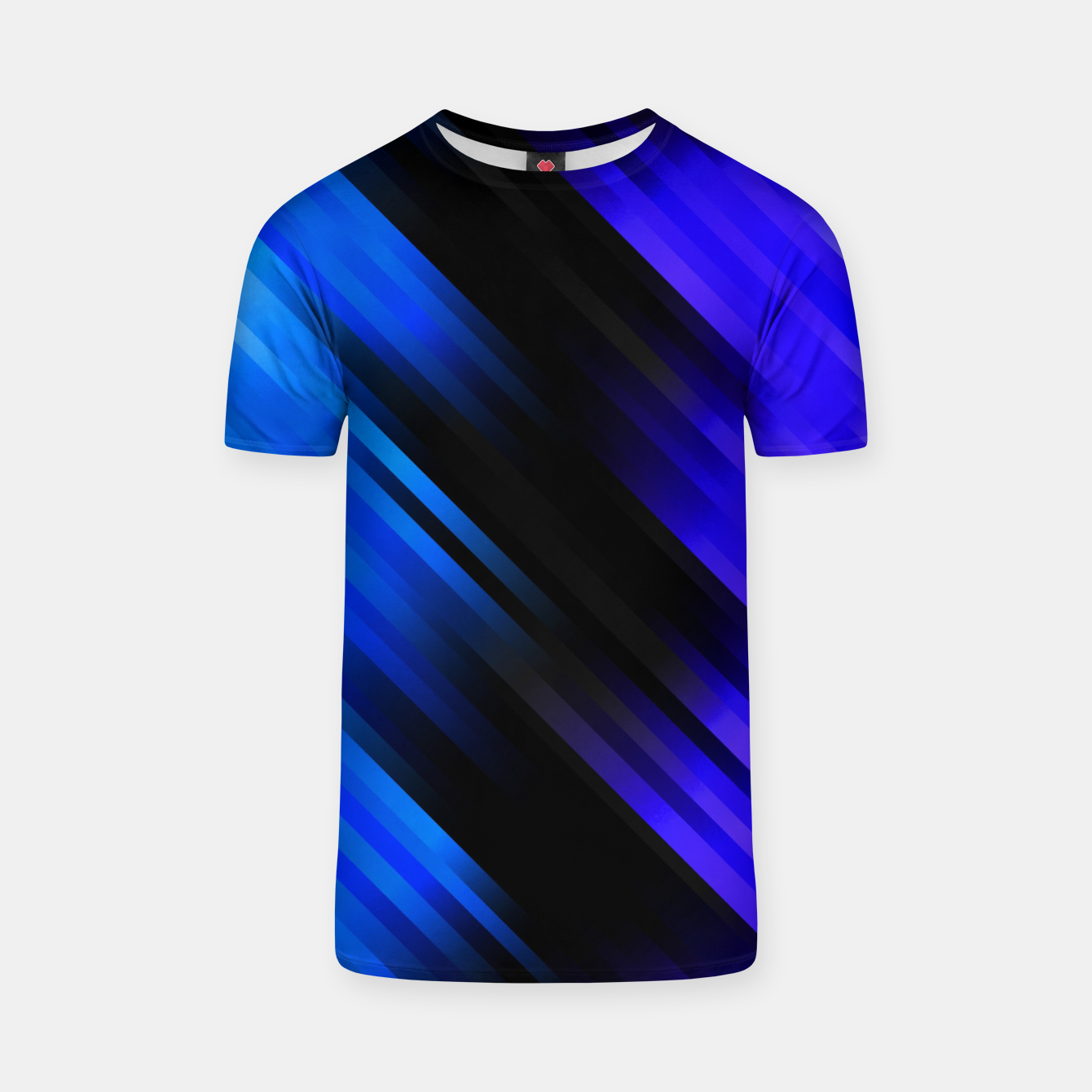 Image of stripes wave pattern 7v1 stdi T-shirt - Live Heroes