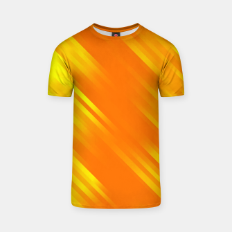 stripes wave pattern 7v1 yo T-shirt thumbnail image
