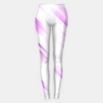 stripes wave pattern 7v1 pp Leggings thumbnail image