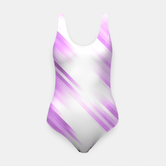 stripes wave pattern 7v1 pp Swimsuit thumbnail image
