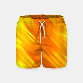 stripes wave pattern 7v1 yo Swim Shorts thumbnail image