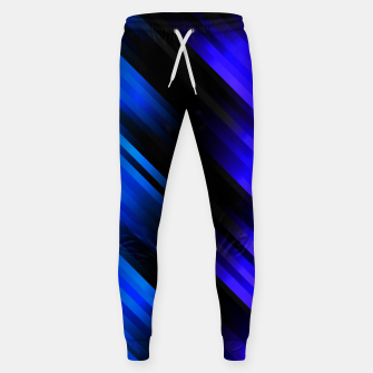 stripes wave pattern 7v1 stdi Sweatpants thumbnail image