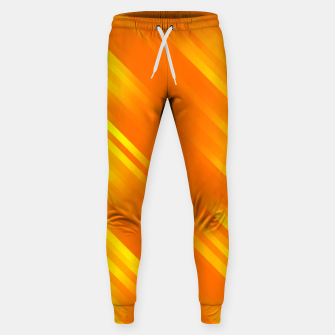 stripes wave pattern 7v1 yo Sweatpants thumbnail image
