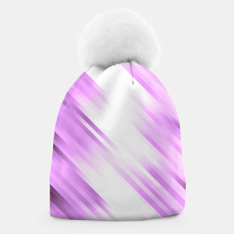 stripes wave pattern 7v1 pp Beanie thumbnail image