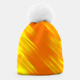 stripes wave pattern 7v1 yo Beanie thumbnail image