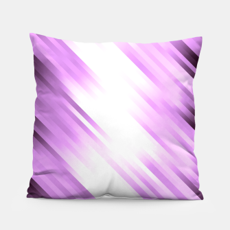 stripes wave pattern 7v1 pp Pillow thumbnail image