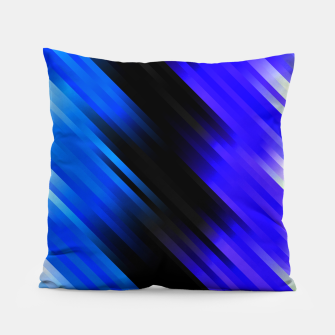 stripes wave pattern 7v1 stdi Pillow thumbnail image