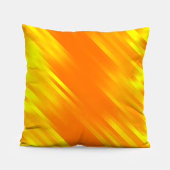 stripes wave pattern 7v1 yo Pillow thumbnail image