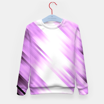 stripes wave pattern 7v1 pp Kid's sweater thumbnail image