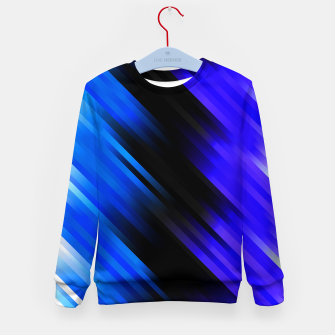 stripes wave pattern 7v1 stdi Kid's sweater thumbnail image