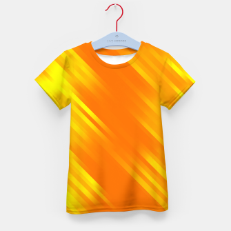 stripes wave pattern 7v1 yo Kid's t-shirt thumbnail image