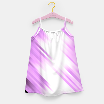 stripes wave pattern 7v1 pp Girl's dress thumbnail image