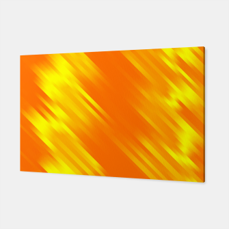 stripes wave pattern 7v1 yo Canvas thumbnail image