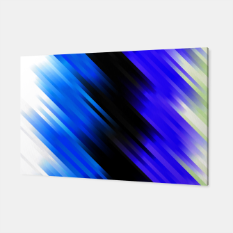stripes wave pattern 7v1 stdi Canvas thumbnail image