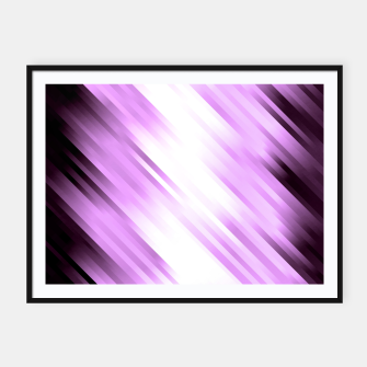 stripes wave pattern 7v1 pp Framed poster thumbnail image