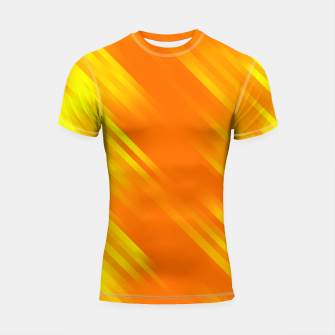 stripes wave pattern 7v1 yo Shortsleeve rashguard thumbnail image