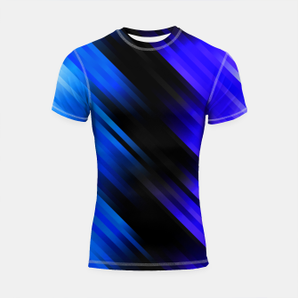 stripes wave pattern 7v1 stdi Shortsleeve rashguard thumbnail image