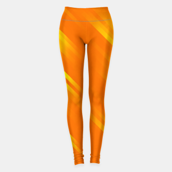 stripes wave pattern 7v1 yo Leggings thumbnail image
