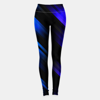 stripes wave pattern 7v1 stdi Leggings thumbnail image