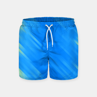 stripes wave pattern 7v1 voi Swim Shorts thumbnail image