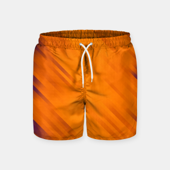 stripes wave pattern 7v1 vo Swim Shorts thumbnail image