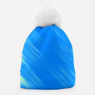 stripes wave pattern 7v1 voi Beanie thumbnail image