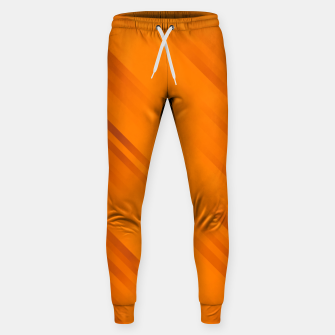 stripes wave pattern 7v1 vo Sweatpants thumbnail image