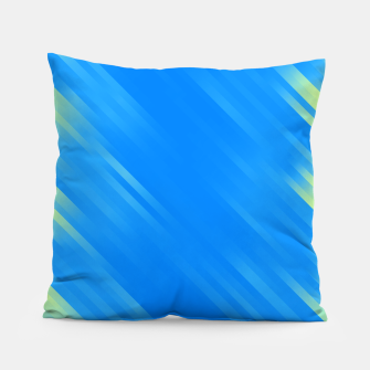 stripes wave pattern 7v1 voi Pillow thumbnail image
