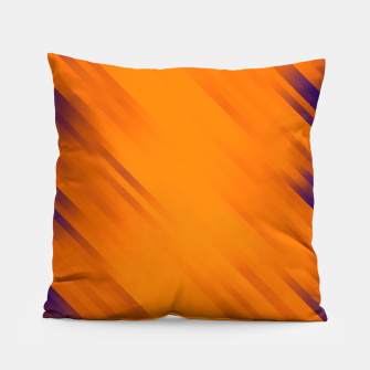 stripes wave pattern 7v1 vo Pillow thumbnail image