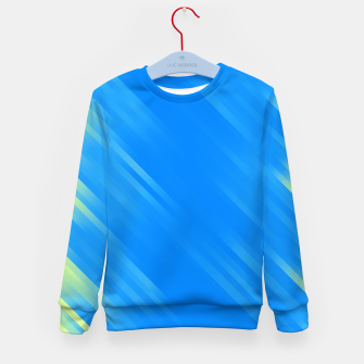 stripes wave pattern 7v1 voi Kid's sweater thumbnail image