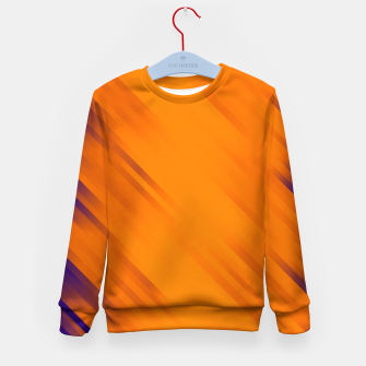 stripes wave pattern 7v1 vo Kid's sweater thumbnail image