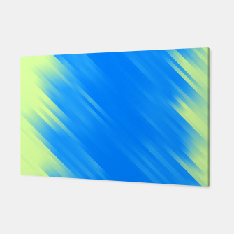 stripes wave pattern 7v1 voi Canvas thumbnail image