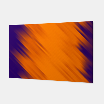stripes wave pattern 7v1 vo Canvas thumbnail image