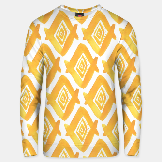 Miniaturka Ethnic Yellow Pattern Unisex sweater, Live Heroes