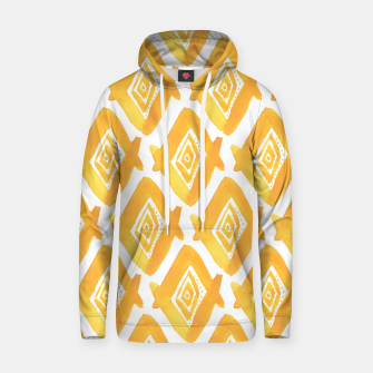 Thumbnail image of Ethnic Yellow Pattern Hoodie, Live Heroes