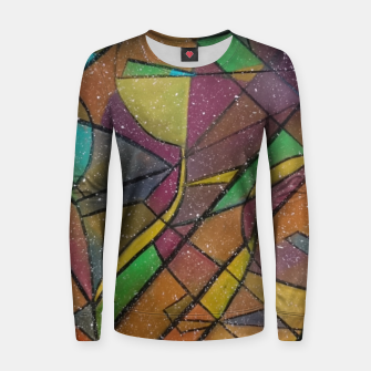 Thumbnail image of GEOMETRIC Women sweater, Live Heroes
