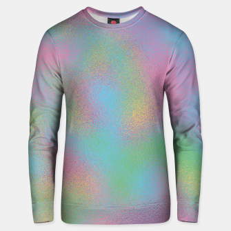 Thumbnail image of Faux Holographic Glass texture  Unisex sweater, Live Heroes
