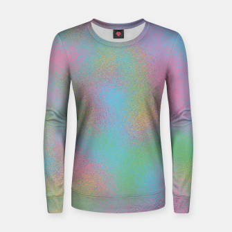 Miniaturka Faux Holographic Glass texture  Women sweater, Live Heroes