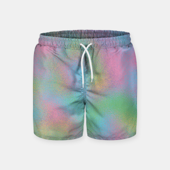 Thumbnail image of Faux Holographic Glass texture  Swim Shorts, Live Heroes