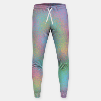Thumbnail image of Faux Holographic Glass texture  Sweatpants, Live Heroes